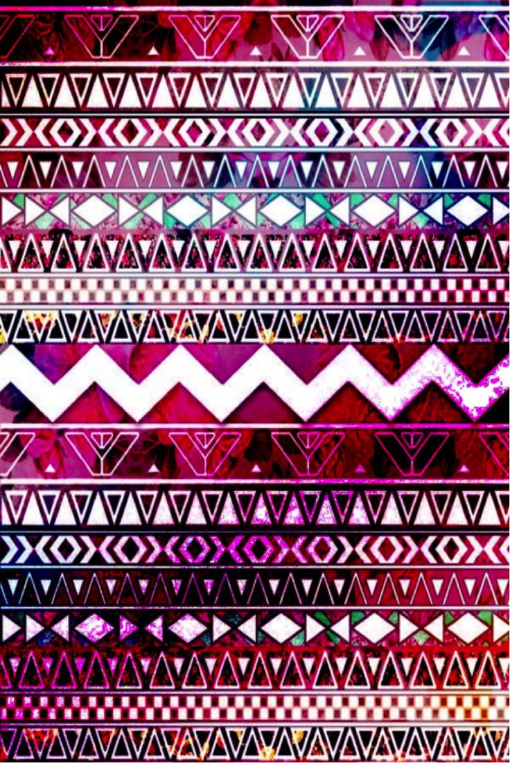 iPhone 5 wallpaper - Aztec Rainbow via ChristineL @ CocoPapa