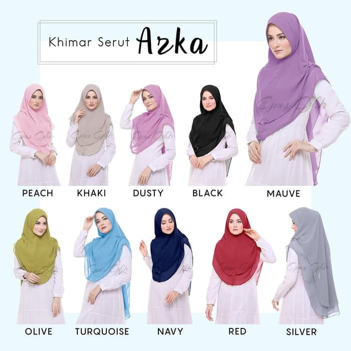 Model Jilbab Khimar Kerudung Hijab Model