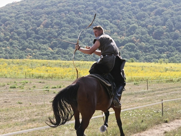 Ruszák Mátyás - hungarian mounted archery - magyar lovasíjászat - a horse archer, horsed archer, or mounted archer is a cavalryman armed with a bow, able to shoot while riding from horseback. Magyar (Hungarians) were created by God to sit on horseback!