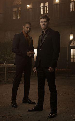 Michael & Joseph (Marcel & Klaus) of the CW's ORIGINALS