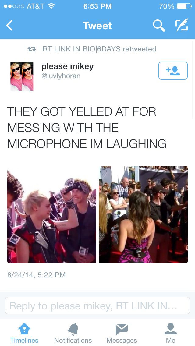 Oh my gosh only them , of course Michael was the one messing around with the…
