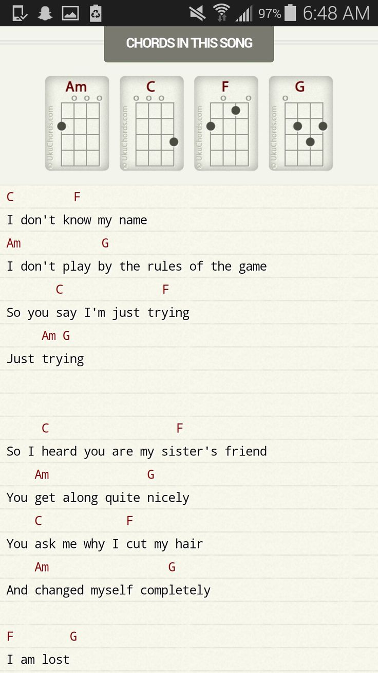I don't know my name by grace Vander Waal   Ukulele songs, Ukulele chords songs, Ukelele chords ukulele songs