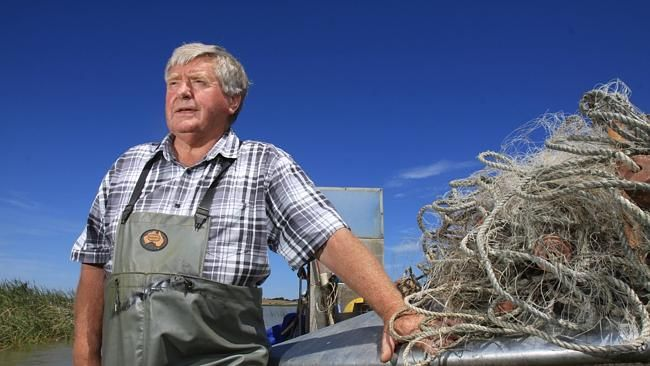 Fourth-generation fisherman Henry Jones campaigned tirelessly for the River Murray.