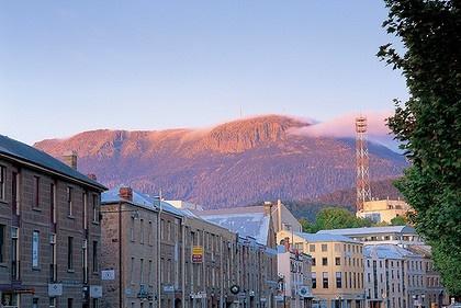 Hobart, Tasmania. A town very close to my heart.
