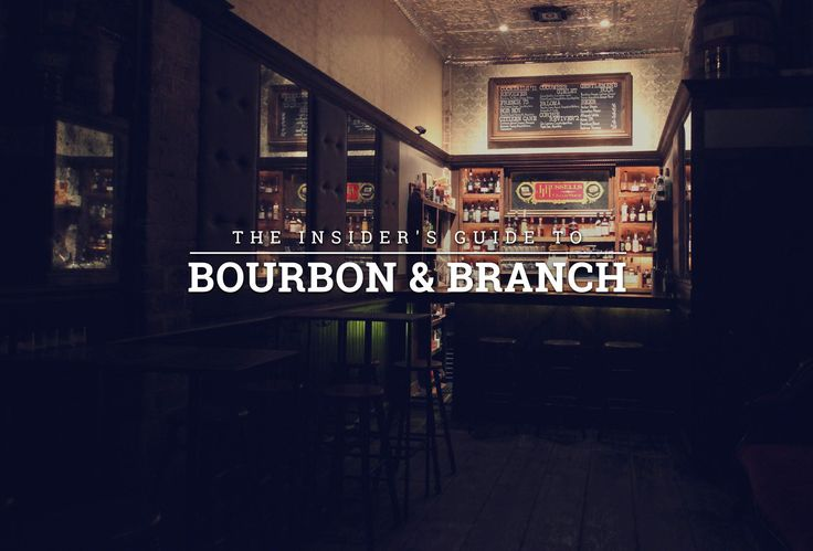Did you know there are actually FIVE different hidden bars inside speakeasy Bourbon & Branch? And do you wanna see pictures of all five??