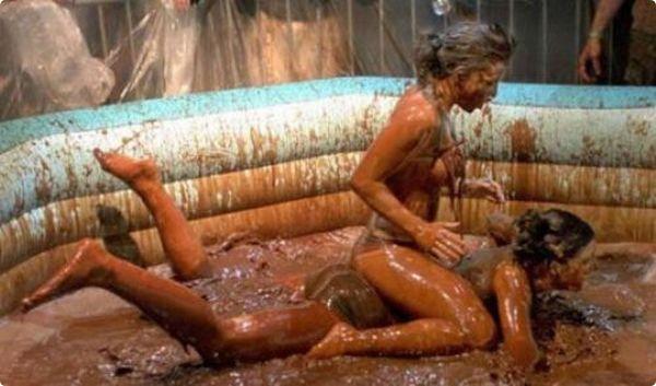 Mud Wrestling #bratislava #stagdo