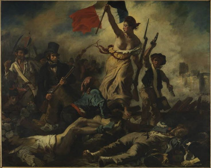 le 28 juillet la libert guidant le peuple muse du louvre paris