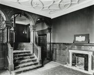 Institution of Mechanical Engineers headquarters, main staircase before addition of wing in 1912