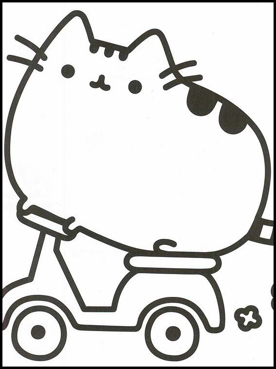 Pusheen 24 Printable Coloring Pages For Kids Pusheen Coloring Pages Cat Coloring Page Coloring Pages For Kids