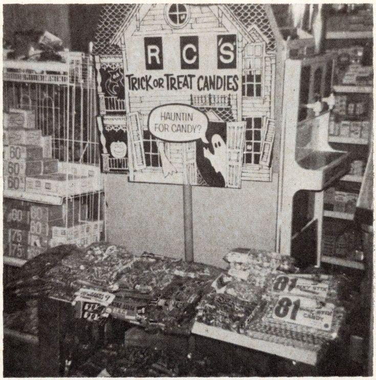 1969 Halloween Store Displays...