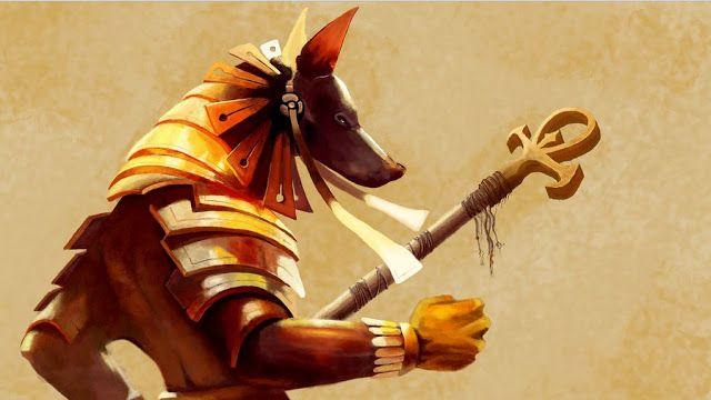 Anubis, Mitologi Mesir kuno