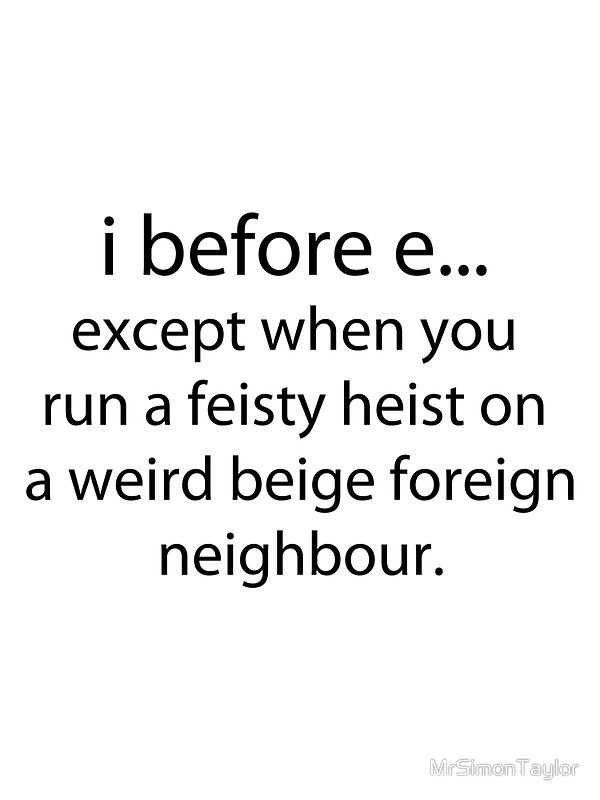 Tricky english!