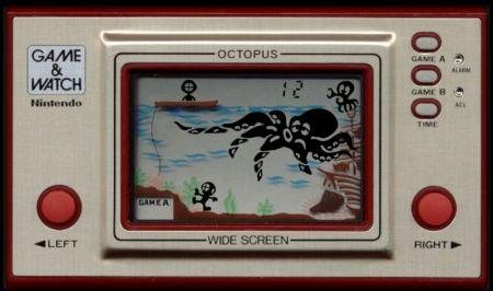 Game & Watch - Octopus http://www.nineoverten.com/wp-content/uploads/2009/11/gamenwatch_octopus-450x266.png