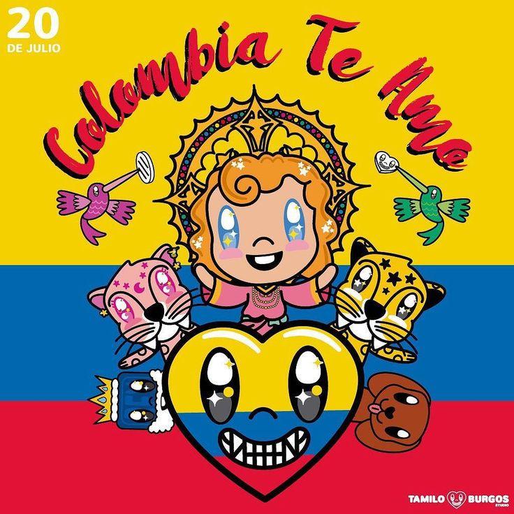 Colombia Te Amo!!! Tu mi inspiración.  #20dejulio #tamiloburgosstudio #colombiacelebra #soydecolombia #quecolombiasesienta #colombia #diadelaindependencia