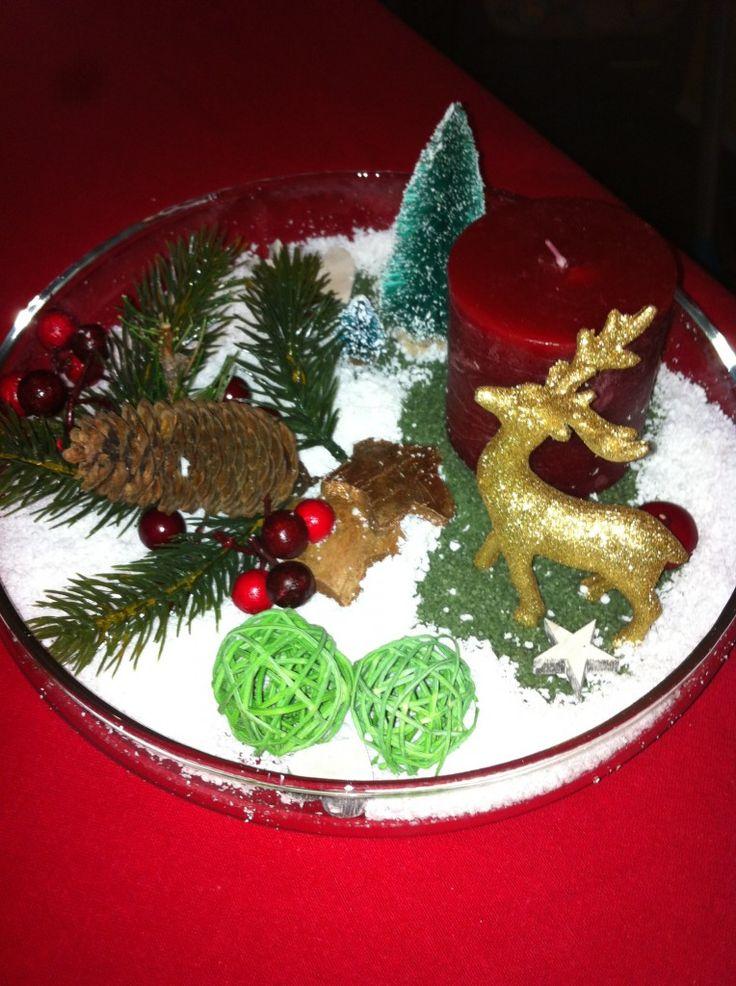 Natale è prendersi cura … centrotavola natalizio!