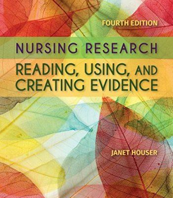 Nursing Research: Reading, Using And Creating Evidence PDF