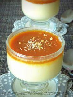 Crème au caramel beurre salé de Christophe Michalak | Le Blog cuisine de Samar                                                                                                                                                                                 Plus