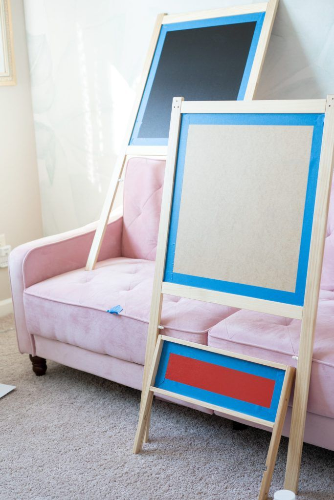 Simple Ikea Mala Easel Hack Diy Simple Ideas For Your Home