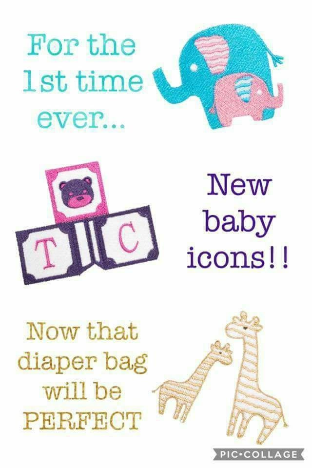 Thirty-One Baby Icons