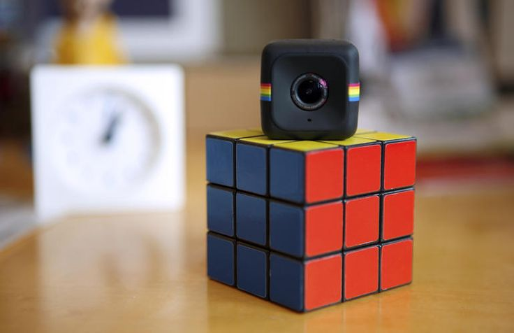 polaroid-cube takes on GoPro Video Cameras for $99