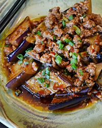 Ma Po Eggplant in Garlic Sauce #recipe