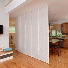 Panel japonés separador de estancias. Separador entre la cocina y el salón.