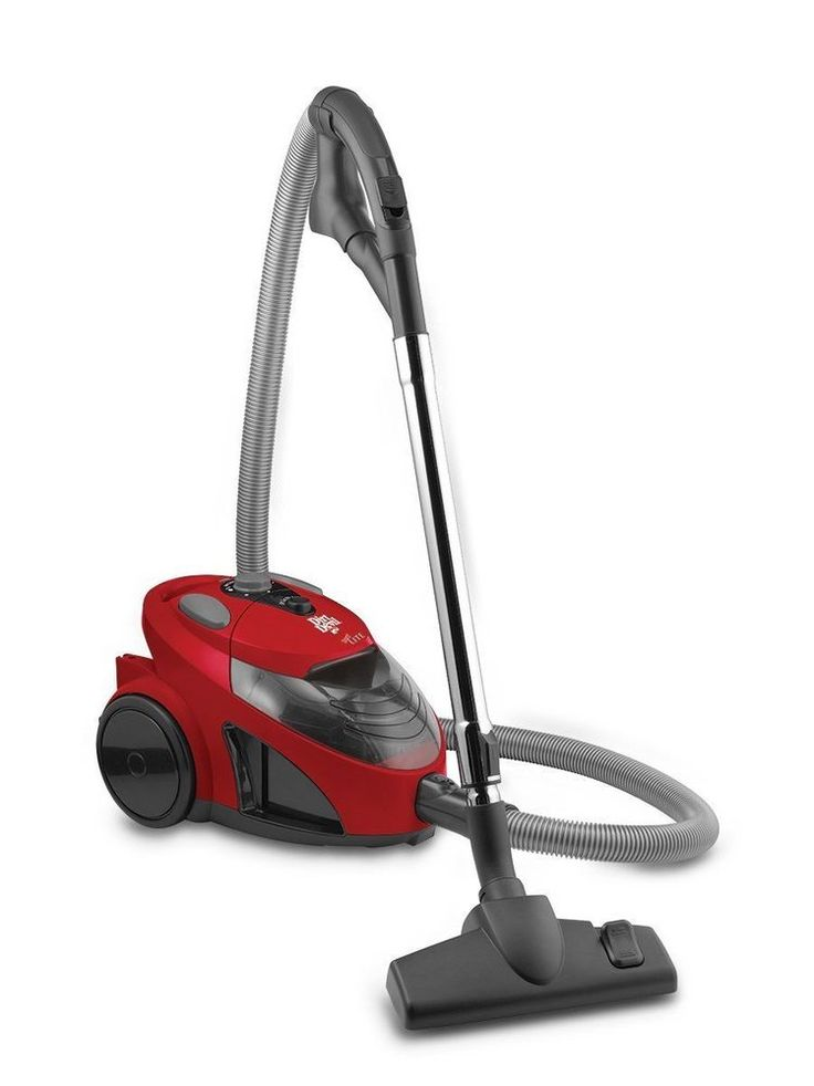 Dirt Devil Vacuum Cleaner Floor Upholstery Canister Auto Corded Bagless Dirt Cup #DirtDevil