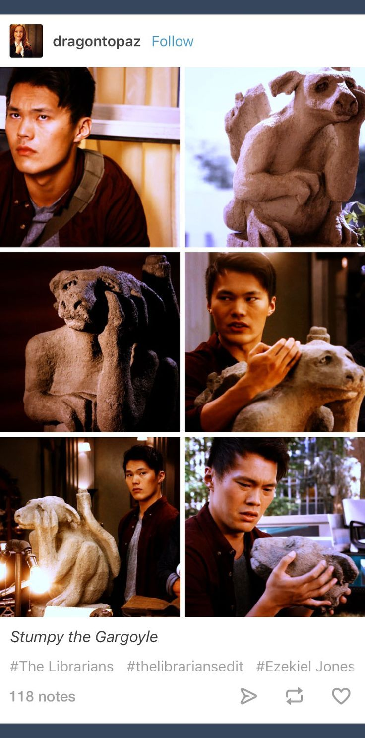 Tumblr; The Librarians; Ezekiel Jones; Stumpy