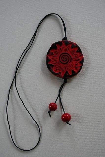 gioielli con il fimo: Ties Were, Clay Necklaces, Con Le, Con Il, Diy Jewelry, Fimo Clay,  Bolo,  Bola Ties