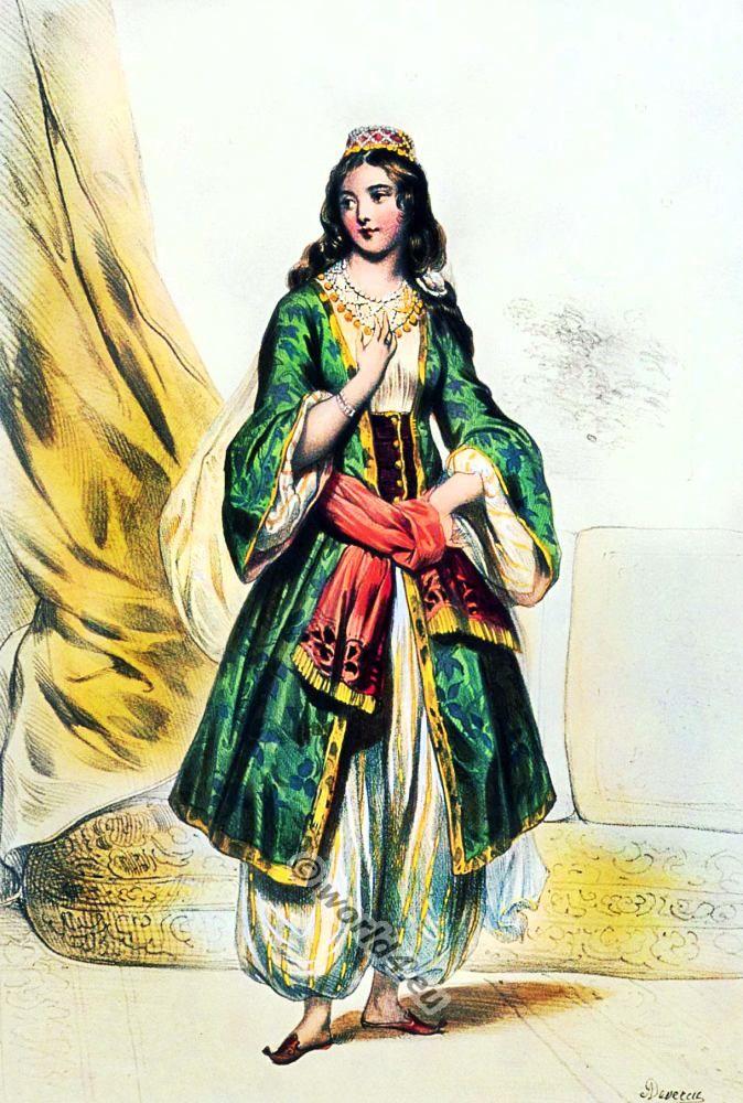 Ottoman Empire Costumes.