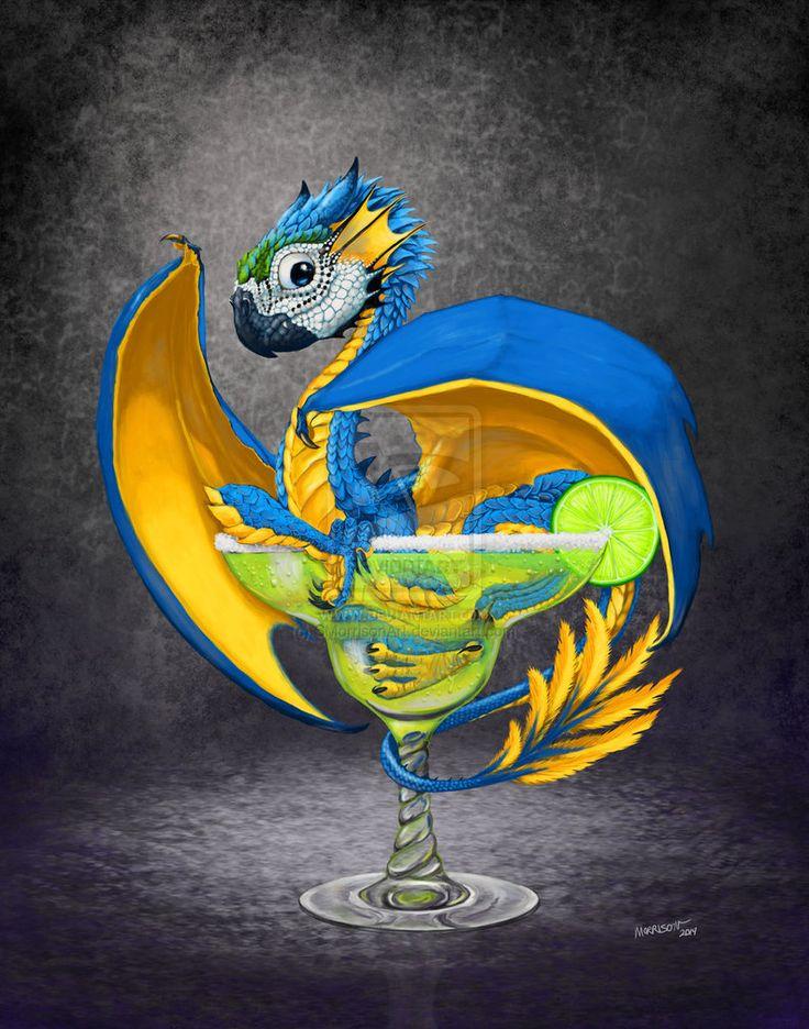 Magarita Dragon by SMorrisonArt on DeviantArt