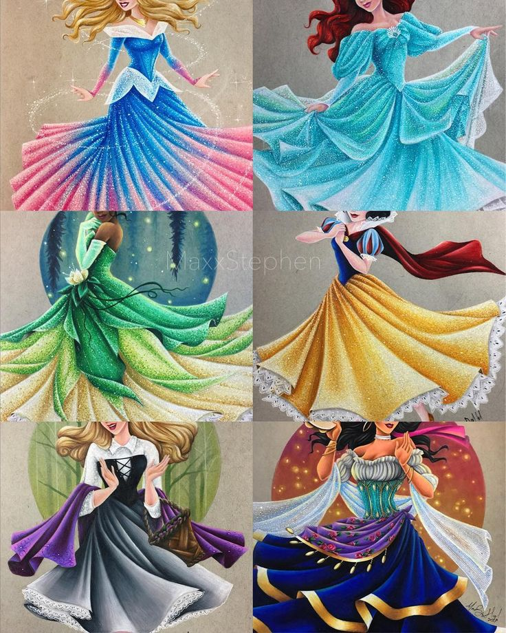 "The ""Twirling Princess"" series is growing!! I've been sketching quite a lot this week and I'm kinda loving it ❤️ I really need to sketch more like I used to I do have a day off of work tomorrow so I hope to start coloring my newest piece!! I also want to give a huge thank you to all of you for the love that Esmeralda got. It's awesome to see some major Esmeralda lovers out there!!"
