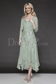 mother of the bride dress in brown, maybe