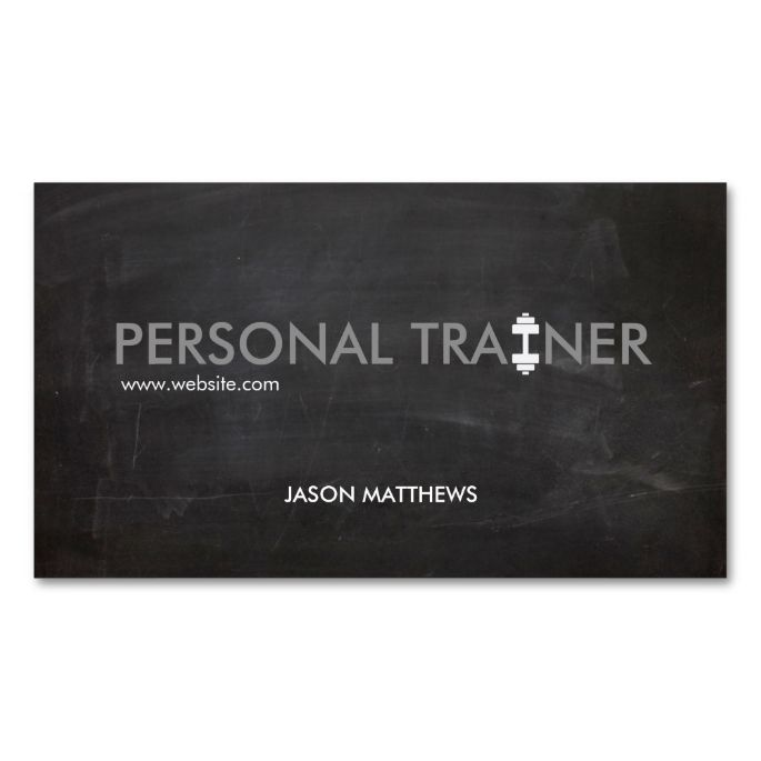 2130 best fitness business cards images on pinterest business card rustic personal trainer dumbbell logo fitness business card colourmoves