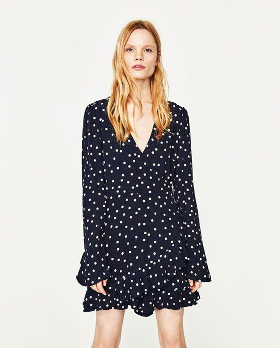 Image 2 of POLKA DOT JUMPSUIT DRESS from Zara