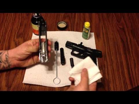 Springfield XDS .45 ACP Field strip, clean, and reassemble. - YouTube