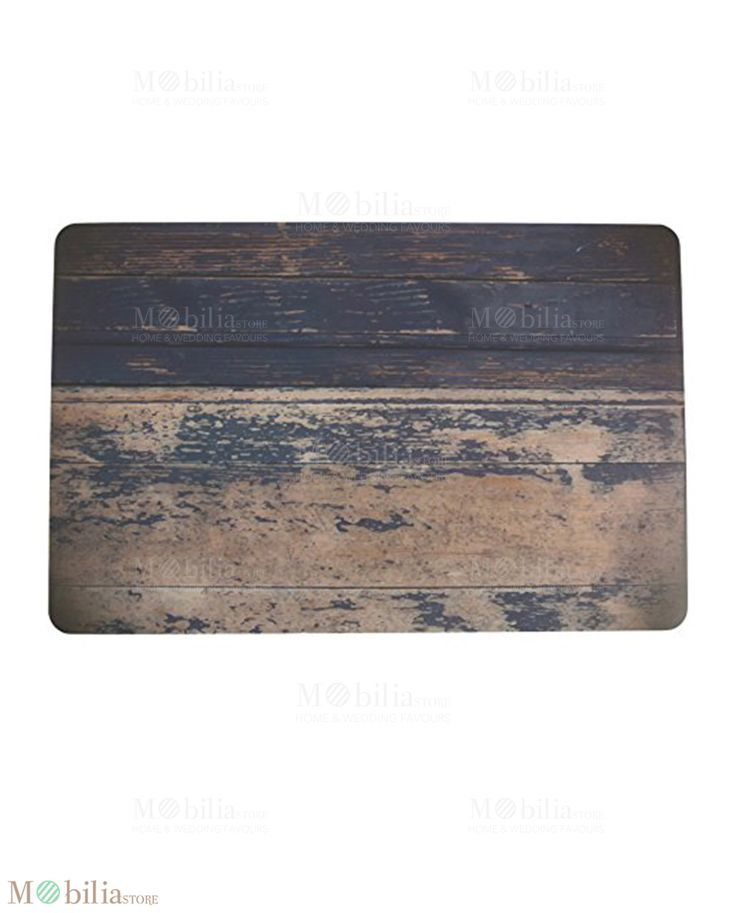 Tovaglietta Effetto Legno, perfetta per apparecchiare la tavola in modo chic ed originale. Scopri le novità su Mobilia Store
