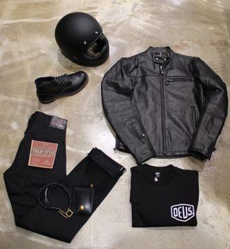 Retrouve le look de Lord #3 sur le site 21grammes - Biker, passe su côté obscur de la force : adopte la black attitude !