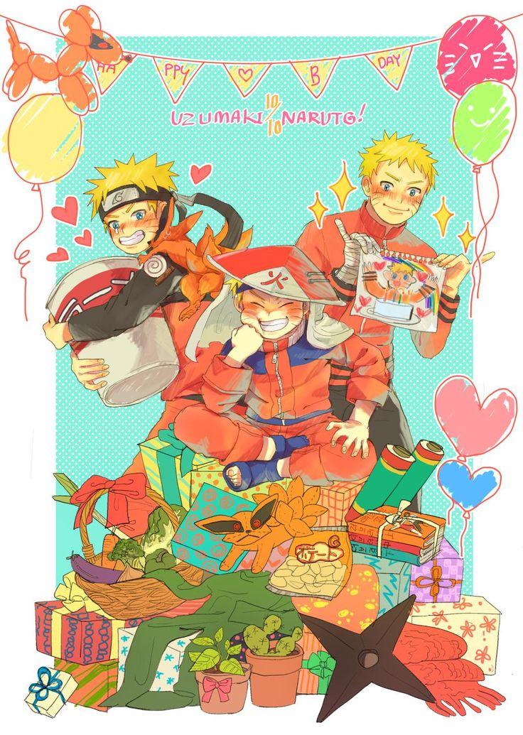 Happy Birthday Naruto!!! #うずまきナルト生誕祭2015