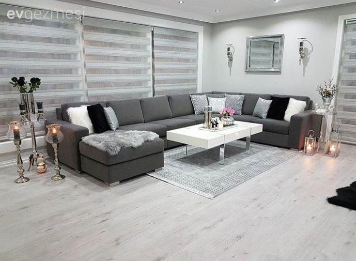Norveç'te yaşayan Meral hanımın düz hatlara sahip, nötr renklerdeki mobilyalarına klasik aksesuarlarla göz alıcı bir hava kattığı, keyifli evinin konuğuyuz.. Serin tonların hakimiyetindeki renk pal...