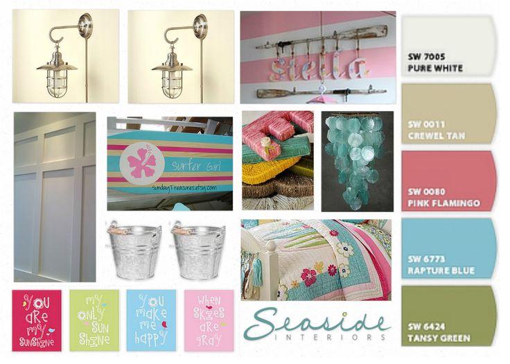 Raffia wrapped letters? ... http://1.bp.blogspot.com/-HKRE2r5LdIs/UOdUl_LNKqI/AAAAAAAADRU/jaWugz8fj08/s1600/OB-Lacey%2527s+Surfer+Girl+Bedroom.jpg