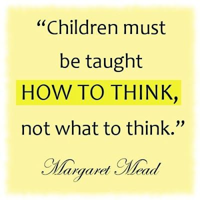 Critical thinking is becoming harder to find these days...