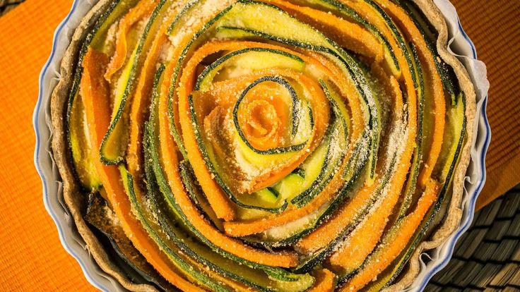 Torta Salata Vegana con Verdure