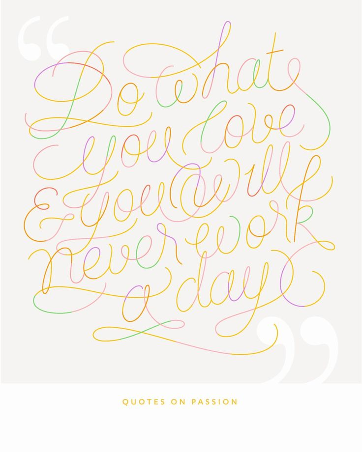 Quotes on Passion Lettering 3