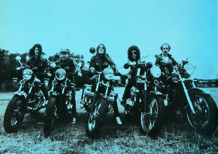 Saxon Wheels of Steel era. 1980