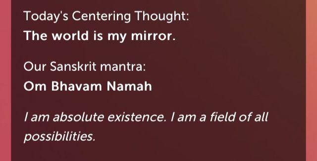 Om bhavam namah. Deepak and Oprah