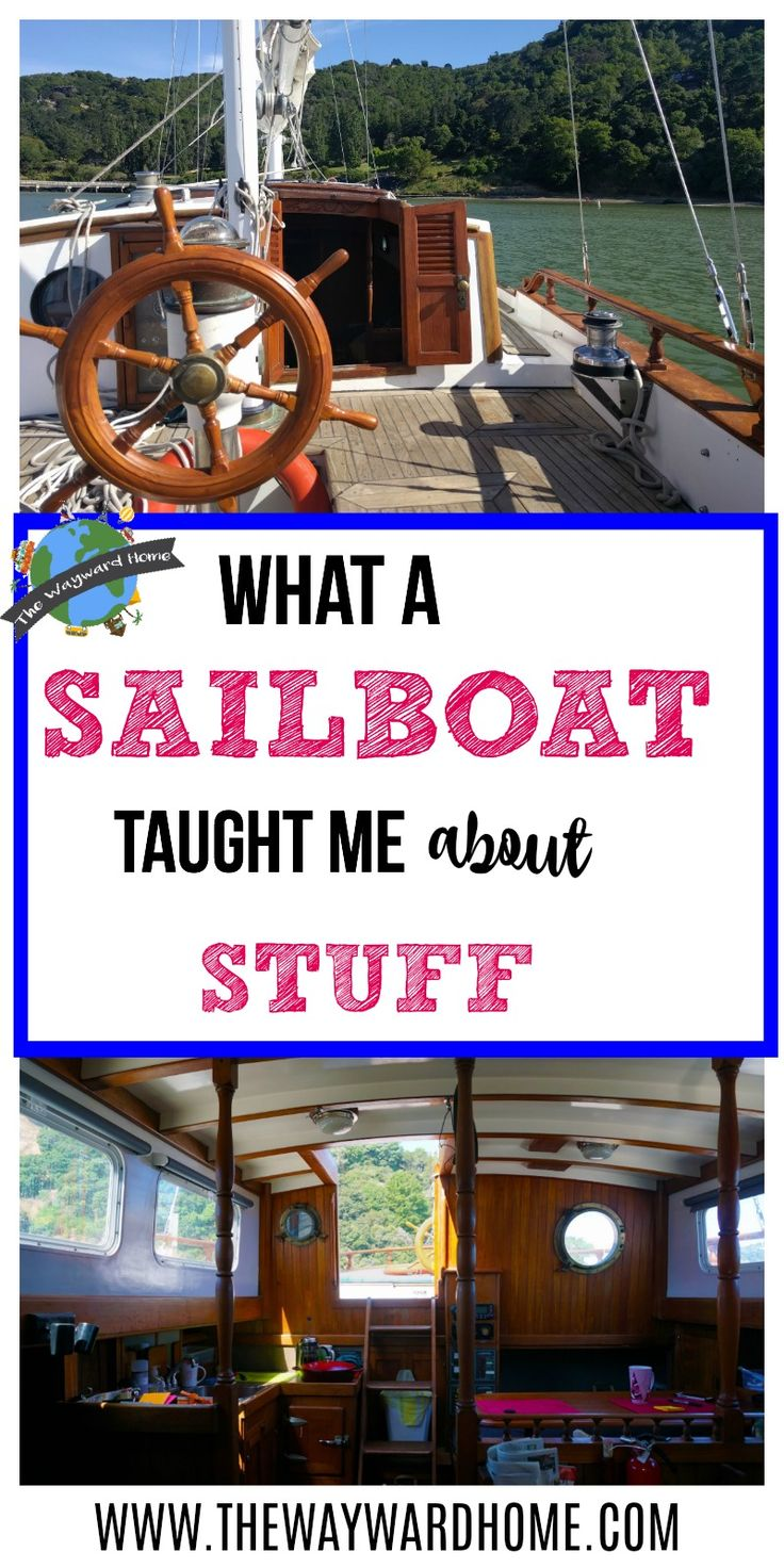 Living on a sailboat is a great exercise in minimalism. Getting rid of stuff feels awesome, and I'm so glad I went through the process. Here are some simple tips on how you can declutter and get rid of stuff, too.  via @thewaywardhome