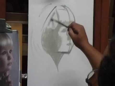 COMO PINTAR RETRATOS AL OLEO  (PALETA MAESTRA) PARTE 1