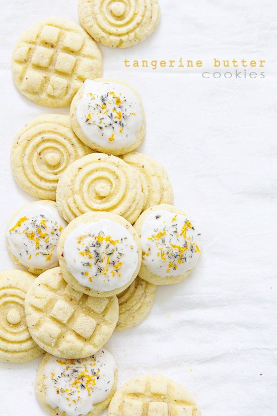 You'll flip for these incredibly tasty Tangerine Butter Cookies! Get the full recipe here: http://www.bhg.com/blogs/delish-dish/2014/08/03/tangerine-butter-cookies/?socsrc=bhgpin081414tangerinebuttercookies