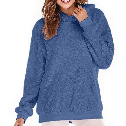 766d8e4c2e42 Btruely Herren Chaqueta Suéter para Mujer Abrigo Jersey Mujer ...